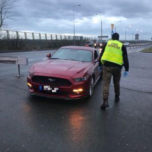 Ford Mustang warty 150.000 zł wróci do właściciela [FILM]
