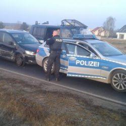 POLSKO-NIEMIECKI POŚCIG ZA SKRADZIONYM VOLKSWAGENEM – 21-LATEK W RĘKACH POLICJI