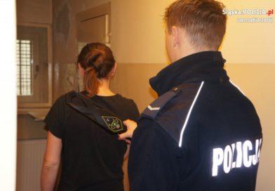 Poszukiwana 32-latka ukryła narkotyki w bieliźnie [FILM]