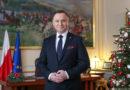 Orędzie noworoczne Prezydenta RP Andrzeja Dudy [FILM]