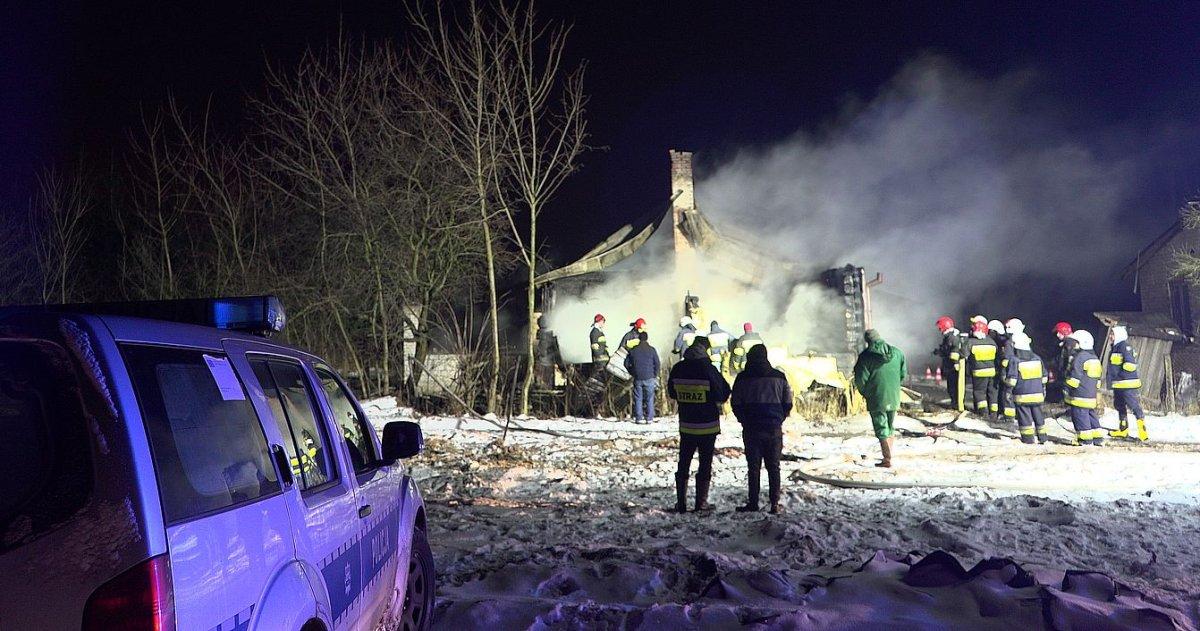 Tragiczny pożar ! Ciało 17-latka odnalezione podczas akcji gaśniczej !