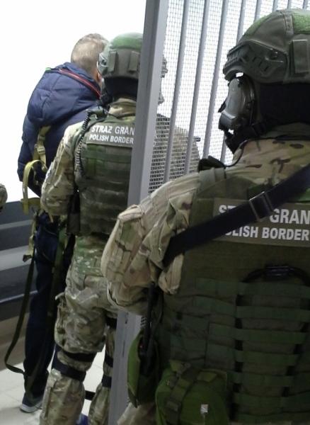 Zabójca zatrzymany przez Straż Graniczną! Obywatel Ukrainy poszukiwany był Europejskim Nakazem Aresztowania (ENA).