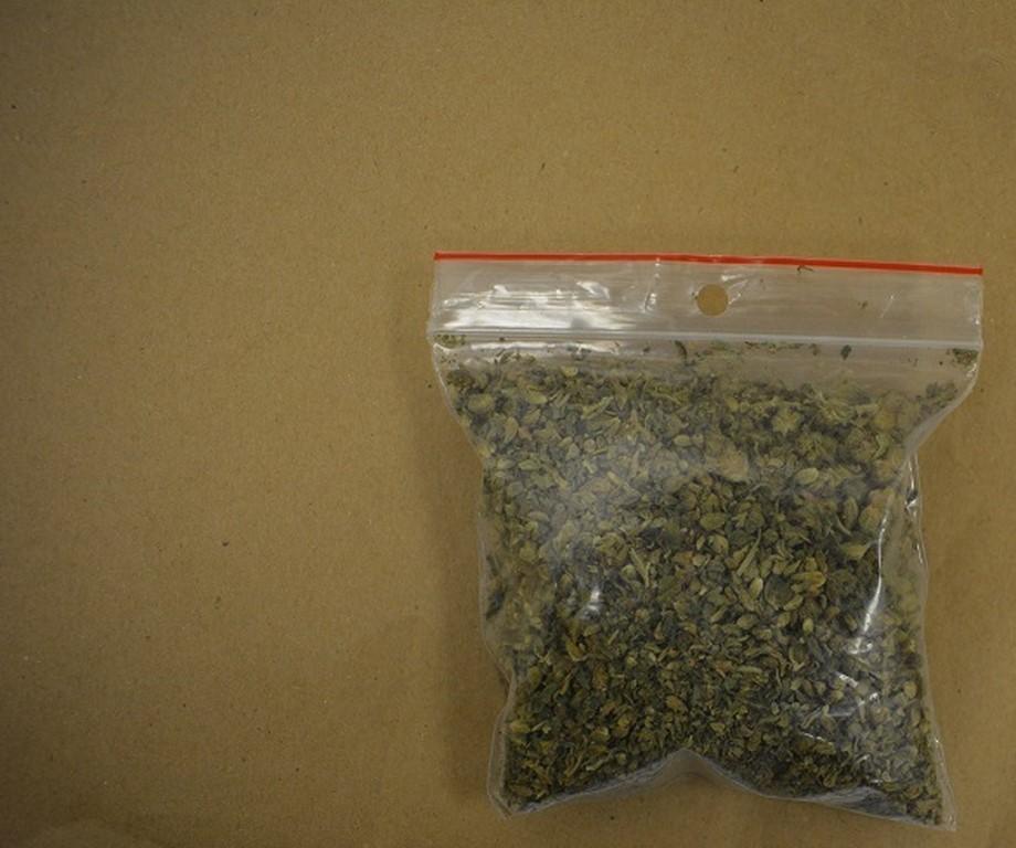 24- latek aresztowany za posiadanie znacznej ilości narkotyków