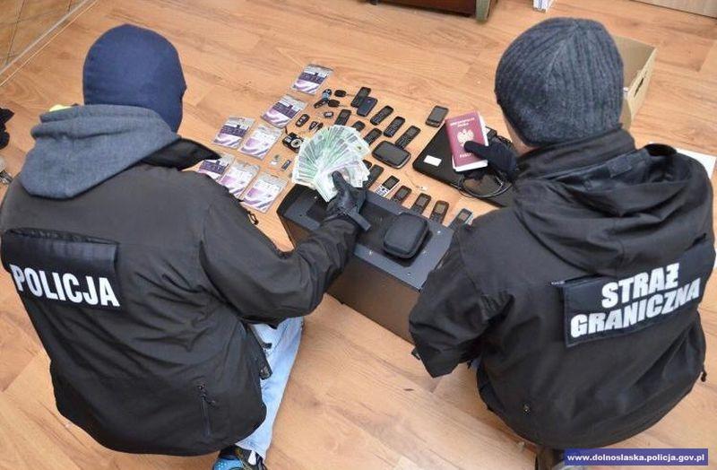Podejrzany o udział w obrocie 167 kilogramami narkotyków zatrzymany przez funkcjonariuszy