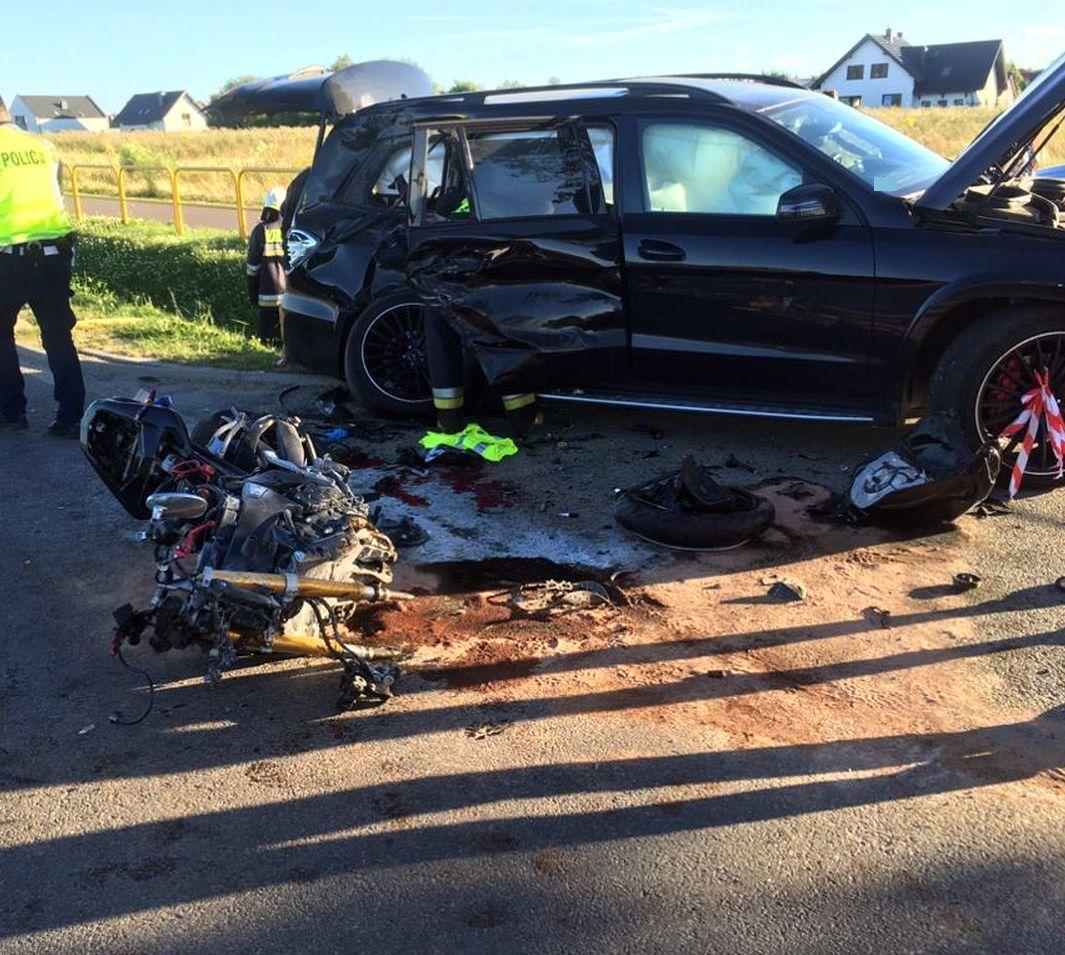 Zginął 28-letni motocyklista
