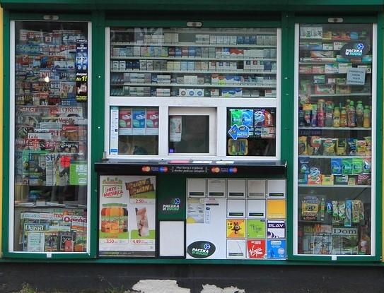 W kiosku kupisz wszystko, gazety, detergenty oraz … amfetaminę.