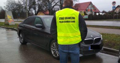 Odzyskano luksusowy samochód marki BMW