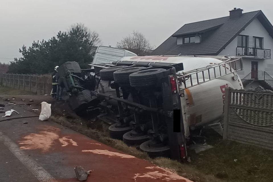 Tragiczny wypadek na DK-74