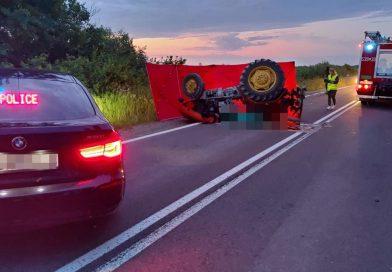 Tragedia! Nie żyje 27-letni traktorzysta.